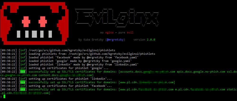 Evilginx 2 - Next Generation of Phishing 2FA Tokens